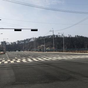 세풍산단 도로